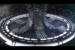 炫酷科技金属片头logo演绎,金属,logo视频素材影视模板