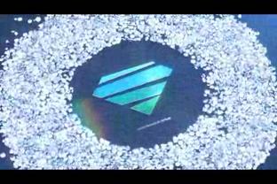 钻石塔,钻石,logo视频素材影视模板