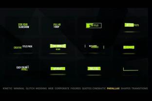 100种各类文字logo样式标题动画展示,徽标,logo