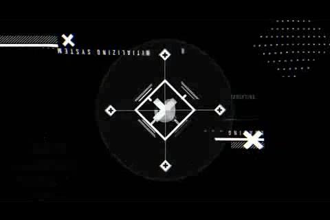多种X符号科技生化干扰logo演绎,科技 logo视频素材影视模板