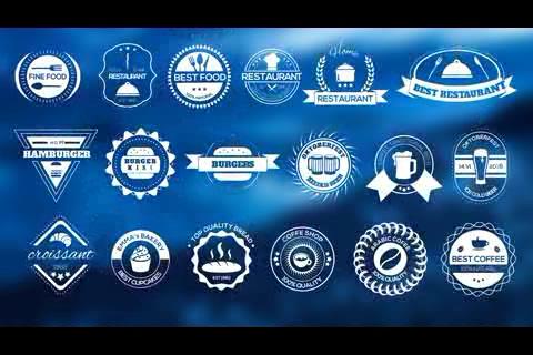 2500个自定义动态徽标,徽标,logo
