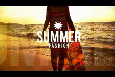 动感时尚夏日幻灯,幻灯视频素材影视模板