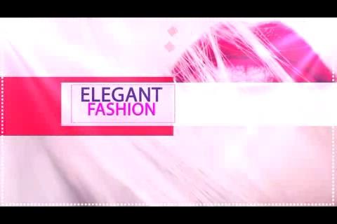 时尚优雅服饰幻灯展示,时尚 幻灯视频素材影视模板