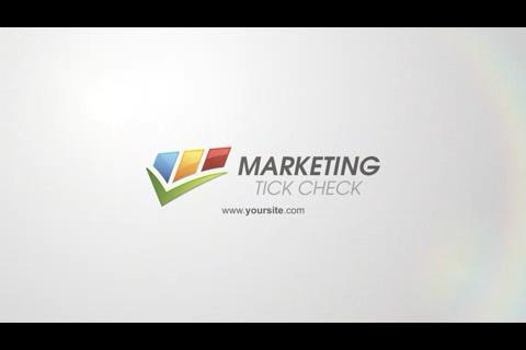 优雅时尚科技简洁logo演绎,时尚 logo视频素材影视模板
