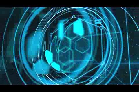 科技激光数码logo演绎,科技 logo视频素材影视模板