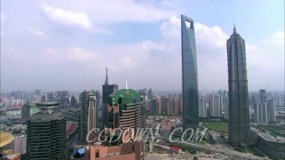 上海城市延时拍摄,上海