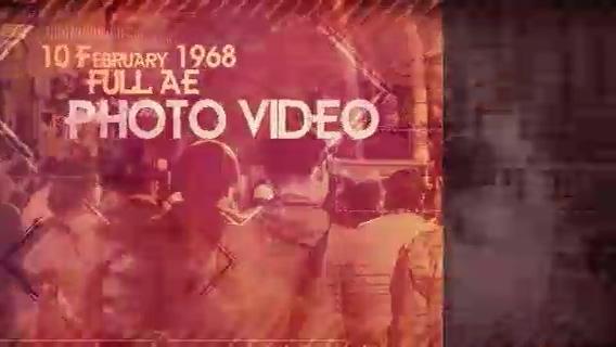 时尚复古介绍影像展示,复古视频素材影视模板