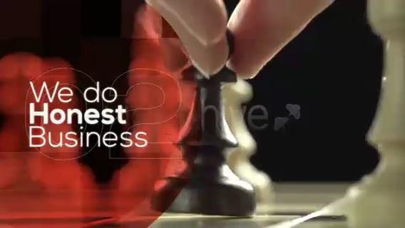 时尚企业商务遮罩业务片头,商务,业务视频素材影视模板