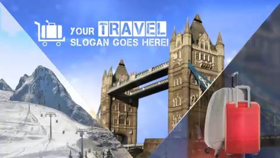 旅游旅行社企业宣传片头,旅行,旅游视频素材影视模板