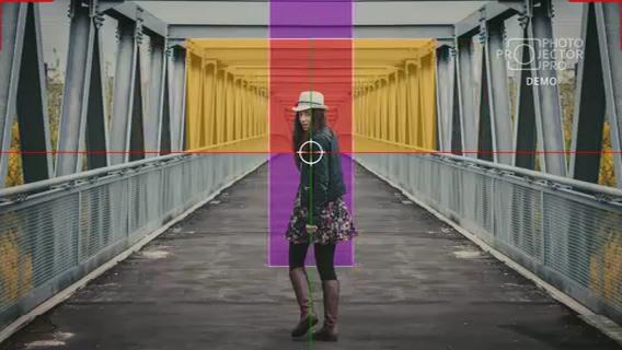 平面图片to3D景深ae模板,3d视频素材影视模板