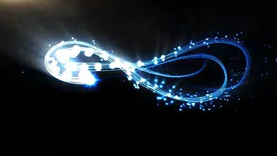 logo,粒子,演绎,流光,动画,绚丽,线条,视频素材