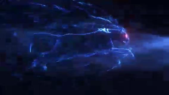 logo,演绎,豹子,光线,科技,激情,粒子,速度,视频素材