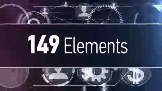 149种hud科技视频动态图形,hud,科技
