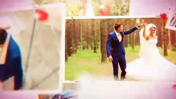 美丽浪漫辉光温馨婚礼记忆相册,婚礼,浪漫,辉光