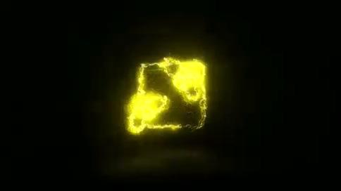 科技,干扰,演绎,logo,闪烁,电流,视频素材