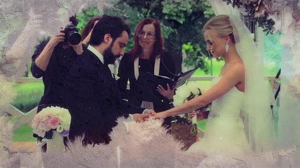 优雅浪漫时尚水墨晕染婚礼镜头记忆视频静帧相册,婚礼