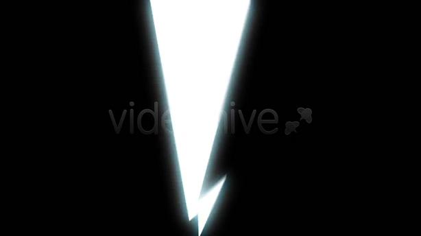 动漫mg卡通闪电特效视频,闪电