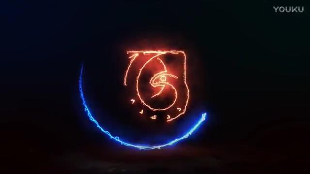 logo,能量,演绎,粒子,闪电,线条,视频素材