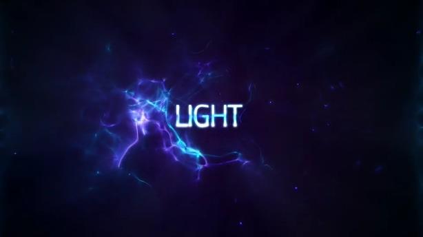 标题,电影,节奏,背景,能量,辉光,闪电,视频素材