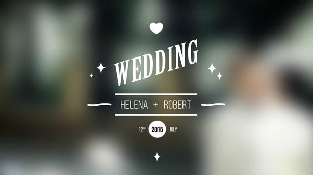 多种婚礼爱情浪漫标题片头,婚礼 标题