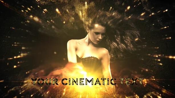 闪耀,片头,粒子,礼花,爆炸,典雅,金色,视频素材