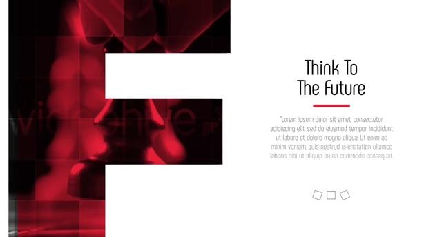 遮罩,公司,片头,宣传,时尚,字母,图形,红色,英文,视频素材