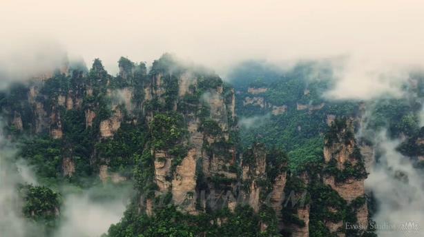 <b>国家5A安徽黄山4K拍摄风景优美视频素材</b>