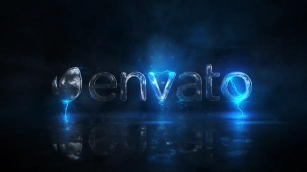 logo,闪电,科技,演绎,电弧,能量,游戏,火花,视频素材