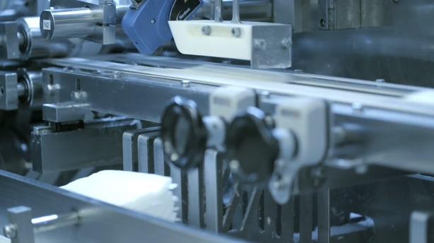 婴儿卫生湿巾生产包装检测流水线,湿巾