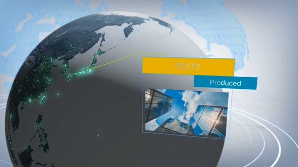 展示,片头,新闻,资讯,新闻自媒体,地球,全球,数字,视频素材