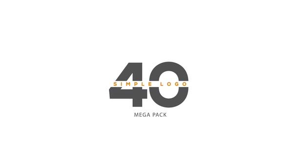 40种时尚简洁科技科技环保自媒体logo演绎视频素材