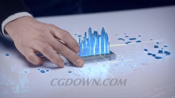 区块链科技城市电脑cpu城市互联财经