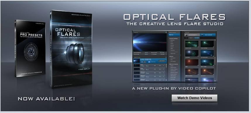 OpticalFlares 光晕插件CG资源
