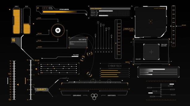 素材,工程,视频,图形,高科技,hud,动态,25组,视频素材