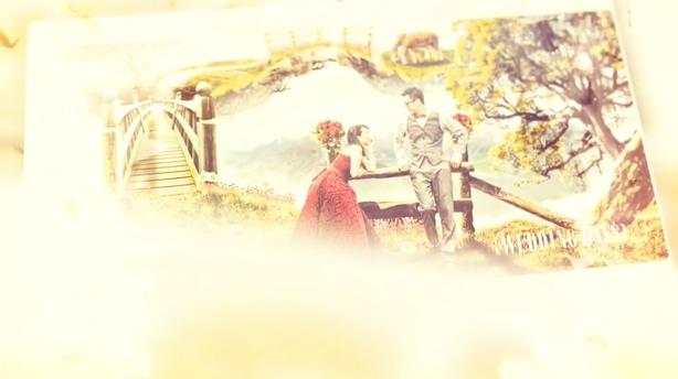 甜蜜的爱情婚礼记忆辉光温馨影视模板,婚礼