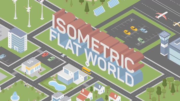 场景,建筑,地图,元素,工具包,城市,动画,动态,三维,图形视频素材