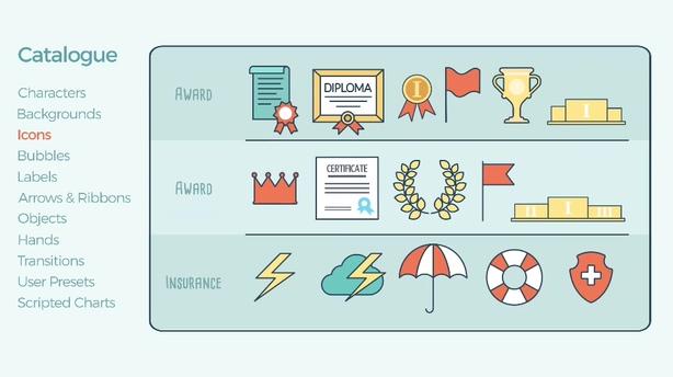 解说,视频,介绍,片头,元素,公司,场景,线条,动画,人物,视频素材