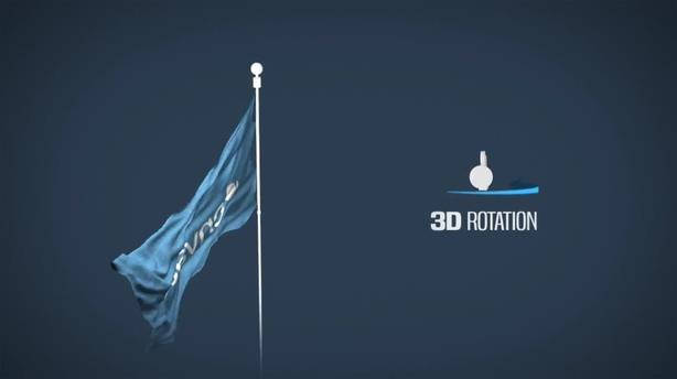 各式各样的AE无滤镜制作3d飘扬旗帜模板,旗帜视频素材