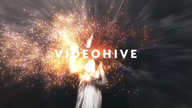 粒子,时尚潮流,片头,四溅,动感,火光,大气,视频素材