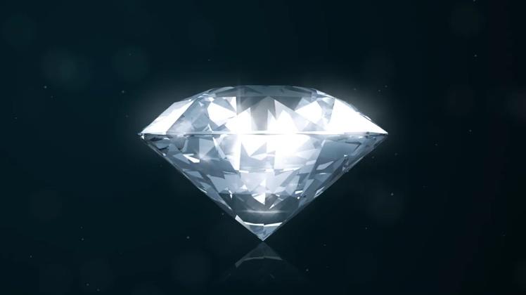 钻石,logo,演绎,经典,璀璨,永恒,华丽,视频素材