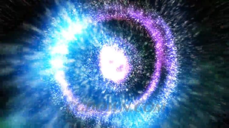 宇宙能量聚集爆发大爆炸高清视频素材