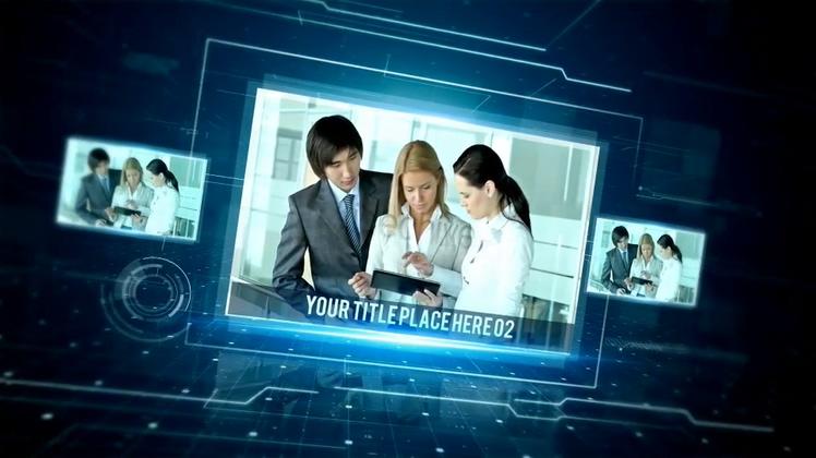 证书,,产品展示,荣誉,蓝色,科技,成果,视频素材