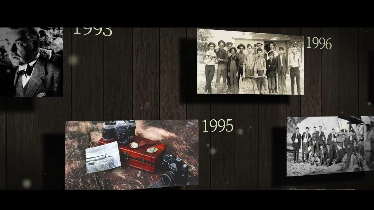 复古,展示,传承,老照片,历史,视频素材
