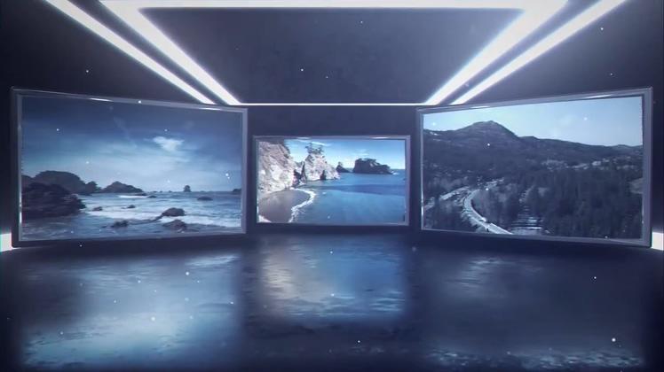 包装,,广告,影像,空间,霓虹灯,电视栏目,真实,视频素材