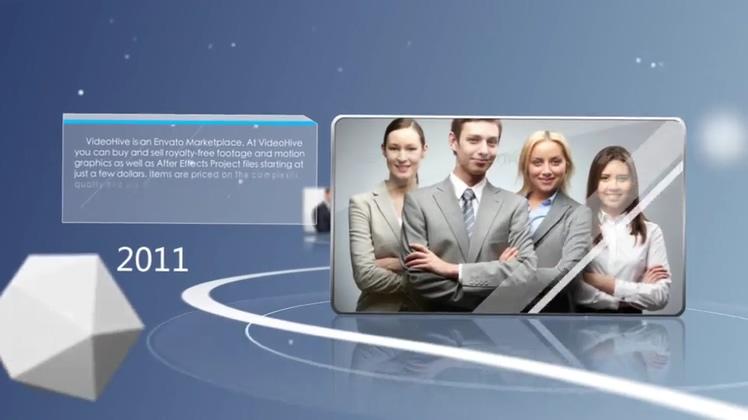 企业,商务,业务,时间线,大事记,时尚扁平化企业商务业务宣传介绍人物AE模板视频素材