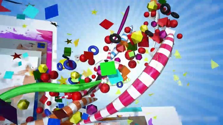 儿童,六一,可爱,毕业,欢快六一儿童节幼儿园毕业影视片头AE模板视频素材