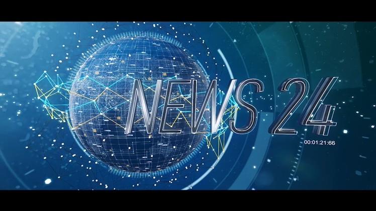 新闻,资讯,自媒体,快讯,网络,科技,实时,栏目,全球新闻纵横自媒体栏目套装AE模板视频素材