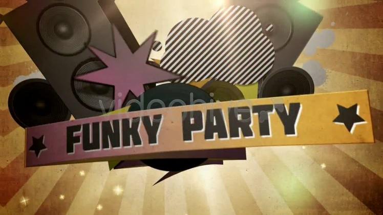 复古动漫朋克摇滚音乐宣传片头Retro Anime Punk Rock Music Promo Head