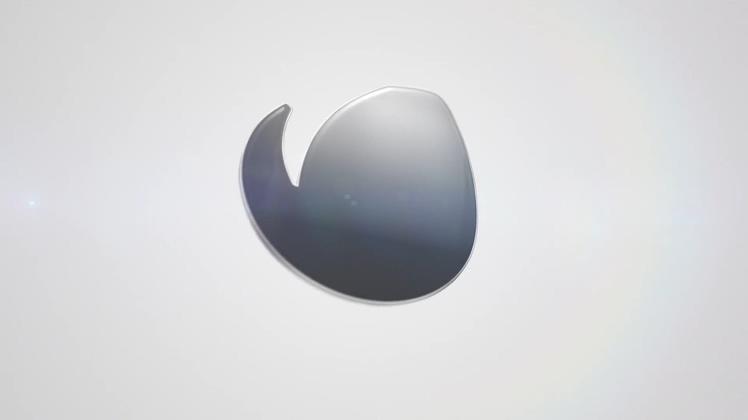 光滑金属镜面质感科技logo演绎