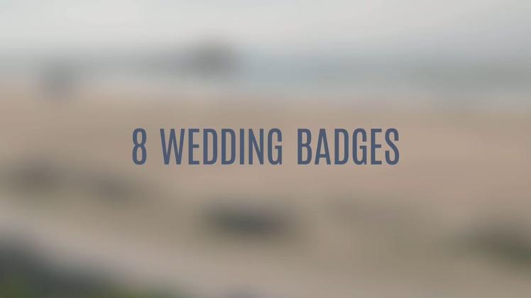 8个浪漫婚礼爱情折叠动态便签AE模板